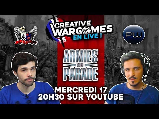 ARMY ON PARADE 2021 - Le joueur, Le peintre & le Fluff éternel