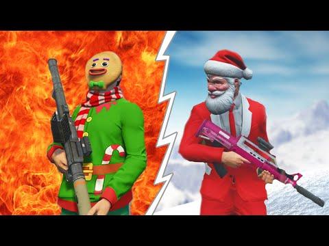 GTA 5 Christmas Special - Santa Claus vs. The Grinch