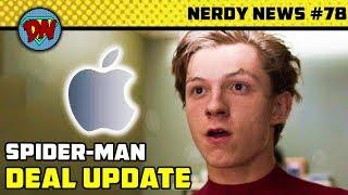 Spider-man Deal, Iron Man Major Update, Batman 80 Years, New Set Photos | Nerdy News #78