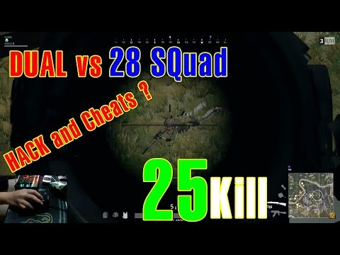 RIP113 PUBG DUAL vs 28 SQUAD Killed 25 People | Hack or Cheat?