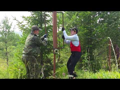 Cмотреть видео Как легко забить столбы под забор. Базука.