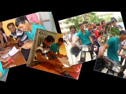 Tập thể lớp 9a1 Trường THCS TT Trà Ôn - Năm học 2014 - 2015