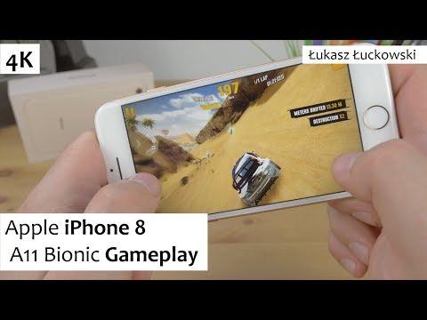 Apple iPhone 8  2GB RAM, A11 Bionic | Gameplay