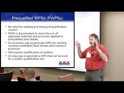 12 - Welding Codes and Standards - Richard Holdren
