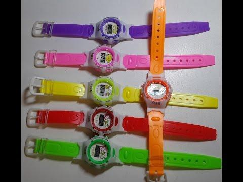 Детские електронные часы Newest Boys Girls Students Cartoon Watch Electronic ЧАСЫ GPS ТРЕКЕР Q50