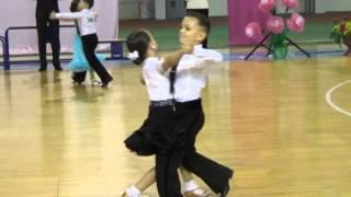 Медленный вальс (waltz): дети начинающие (финал) - Чемпионат по спортивным танцам-2015 (Сумы)