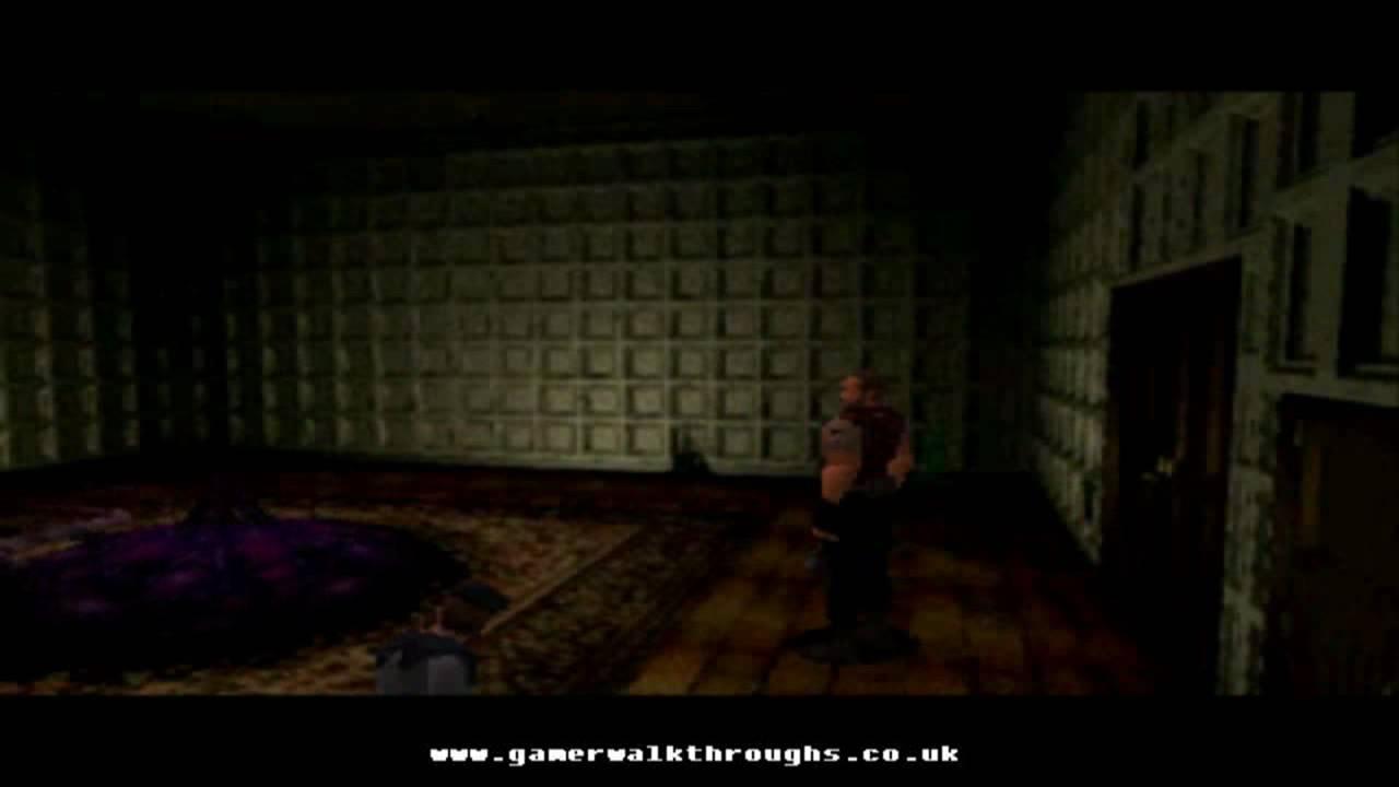 Resident evil ps1 walkthrough plant 42 youtube for Plante 42 resident evil