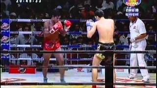Khmer Fighter: Keo Rumchong VS Luca Novello (Italy) 70kg 6-28-2013 RELOAD