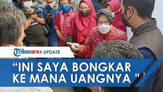 Download Risma Marah Temukan Bansos Sembako Hanya Dibagikan 2 Bulan di Tuban: Saya Bongkar, Ke Mana Uangnya