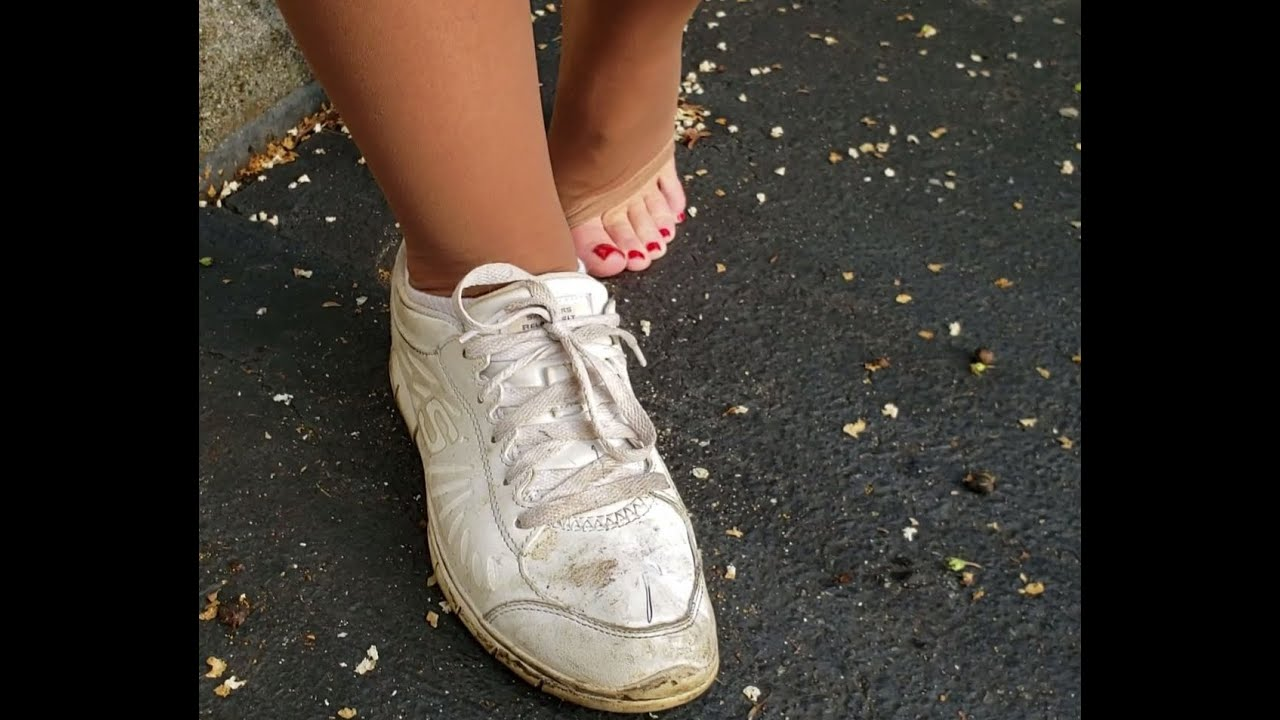 For sale: Hooters size 5.5 waitress shoes