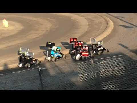 Lemoore Raceway 7/6/19 Jr Sprint Heat -Ty