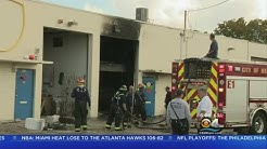 Fire Marshall Investigating Massive Hialeah Warehouse Fire