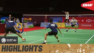 YONEX Thailand Open | Young guns Carnando and Marthin take Ellis and Langridge to a razor's edge