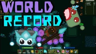 Starve.io Zombie Mode WORLD RECORD 92.7K HighScore Zombies Scared