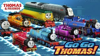 Thomas & Friends: Go Go Thomas! NEW UPDATE 2019 - All trains Unlocked - Challenge Thomas VS Friends