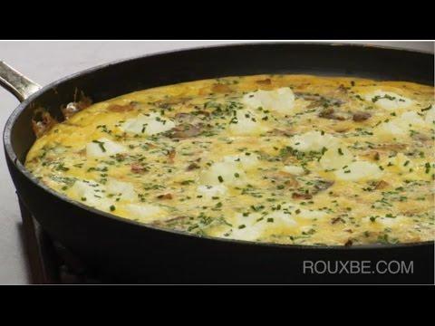 how-to-make-frittata- -bacon,-potato,-mushroom-&-cheese