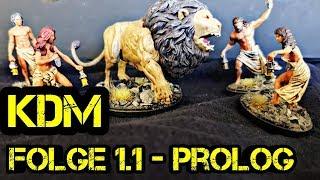 Kingdom Death Monster 1.5 - Lets Play - Folge 1.1 - Prolog White Lion - Deutsch - Boardgame Digger