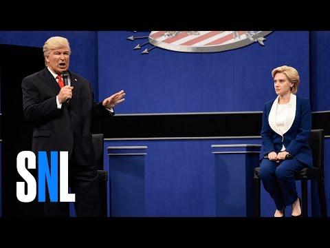 Donald Trump vs. Hillary Clinton Town Hall Debate Cold Open - SNL