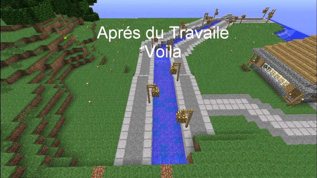 Minecraft construction d 39 une ville riviere youtube - Video de minecraft construction d une ville ...