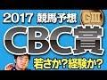 【競馬予想】 2017 CBC賞 若さか、経験か