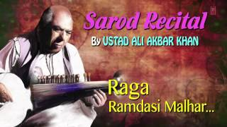 Raag : Ramdasi Malhar - Sarod Instrumental | T-Series Classical | Ali Akbar Khan