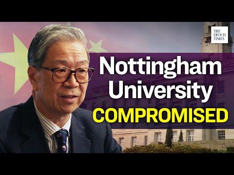 Veteran CCP Member Heads Nottingham University for 12 years | Epoch News | China Insider