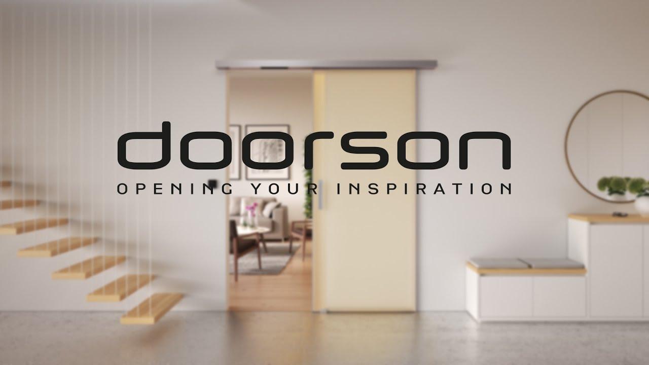 Doorson Automatic Interior Sliding Doors Youtube
