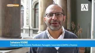 DRONE: intervista Presidente Architetti Napoli