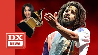 J. Cole Says Seeing Cardi B Win A Grammy Made Him Feel Like He Won