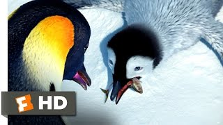 Happy Feet (2/10) Movie CLIP - Take the Fish (2006) HD