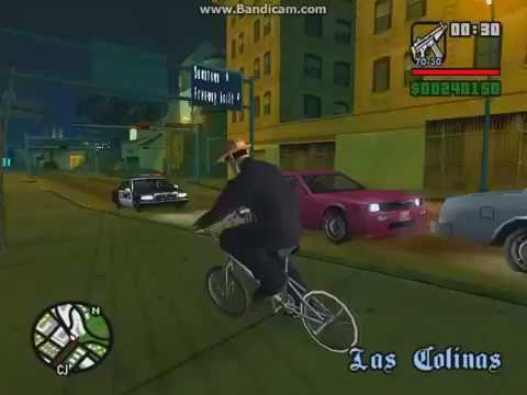 How To Ride Bmx Fast In Gta San Andreas Youtube