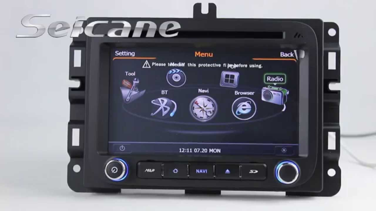 Original 2013 2014 2015 Dodge Ram 1500 Stereo Upgrade To