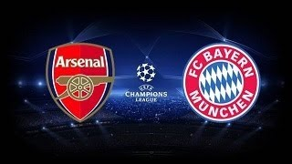 Arsenal 1-2 Bayern Munchen / 19 Jenuary 2014 Wednesday / PES14 Version