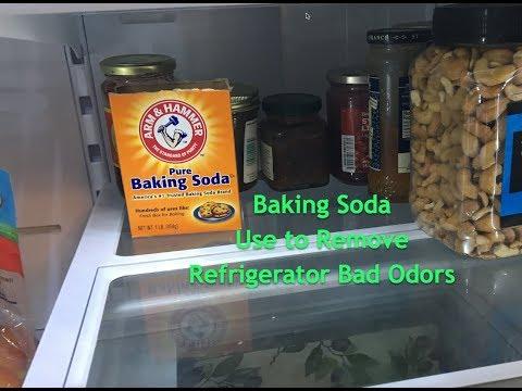 Baking Soda - Use to Remove Refrigerator Bad Odors