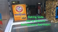 Baking Soda - Use to Remove Refrigerator Bad Odors