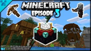 Outposts, Villages & Enchanting | Python's World (Minecraft Survival Let's Play S3 1.14) | Episode 5