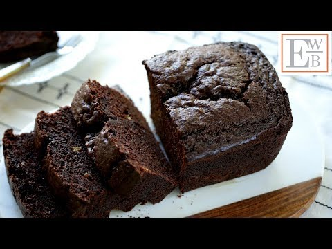 How to make basic chocolate banana bread from scratch