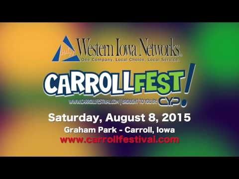 Enjoy Iowa at CarrollFest 2015