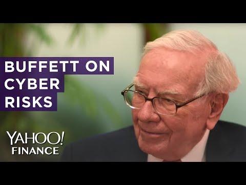 Warren Buffett: Cyber poses real risks to humanity...it's a dangerous world