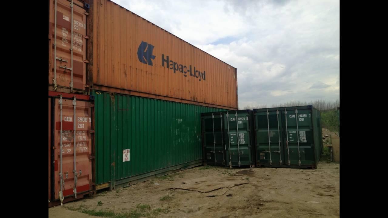 Продажа морских контейнеров 40 футов новых и б/у от 60000 рублей. У нас вы сможете купить контейнер 40 футов в санкт-петербурге.