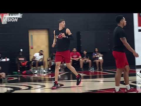 Jay Scrubb And Khristian Lander Run With Louisville Players In A Open Run | Scrubb Committed To UofL