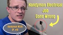 The Hardest Handyman Electrical Job / WLOG