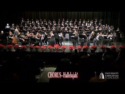 2017 PERFORMANCE OF HANDEL'S MESSIAH BY THE UAPB VESPER CHOIR