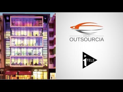 Présentation du groupe Outsourcia réalisée par ITélé !