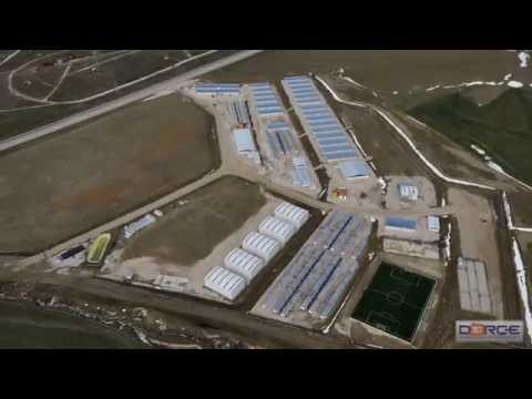 DORCE successfully constructed TANAP Camp Projects in Turkey