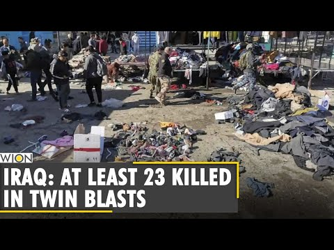 Iraq: Death toll from Baghdad twin suicide attack reaches 23 | World News | WION News