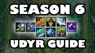 Sated Udyr Jungle Guide 6.1 - How to Build in Every Situation