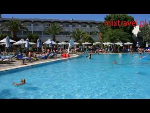 Hotel Sun Palace Faliraki Wyspa Rodos Grecja | Rhodes - Greece | mixtravel.pl - YouTube