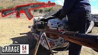 Стрельба В Баллон Газа От Гараж 54