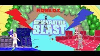 Roblox - Brick Battle Blast | Destroy All Spawn Points!! BOOM! 😊